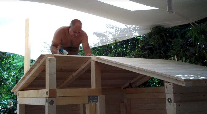 How To Build A Children's Playhouse Free Plans